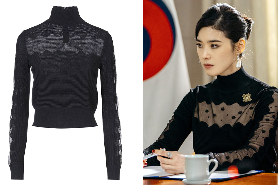 CHECK OUT THESE JUNG EUN CHAE'S FASHION PIECES IN K-DRAMA 'THE KING:ETERNAL MONARCH'