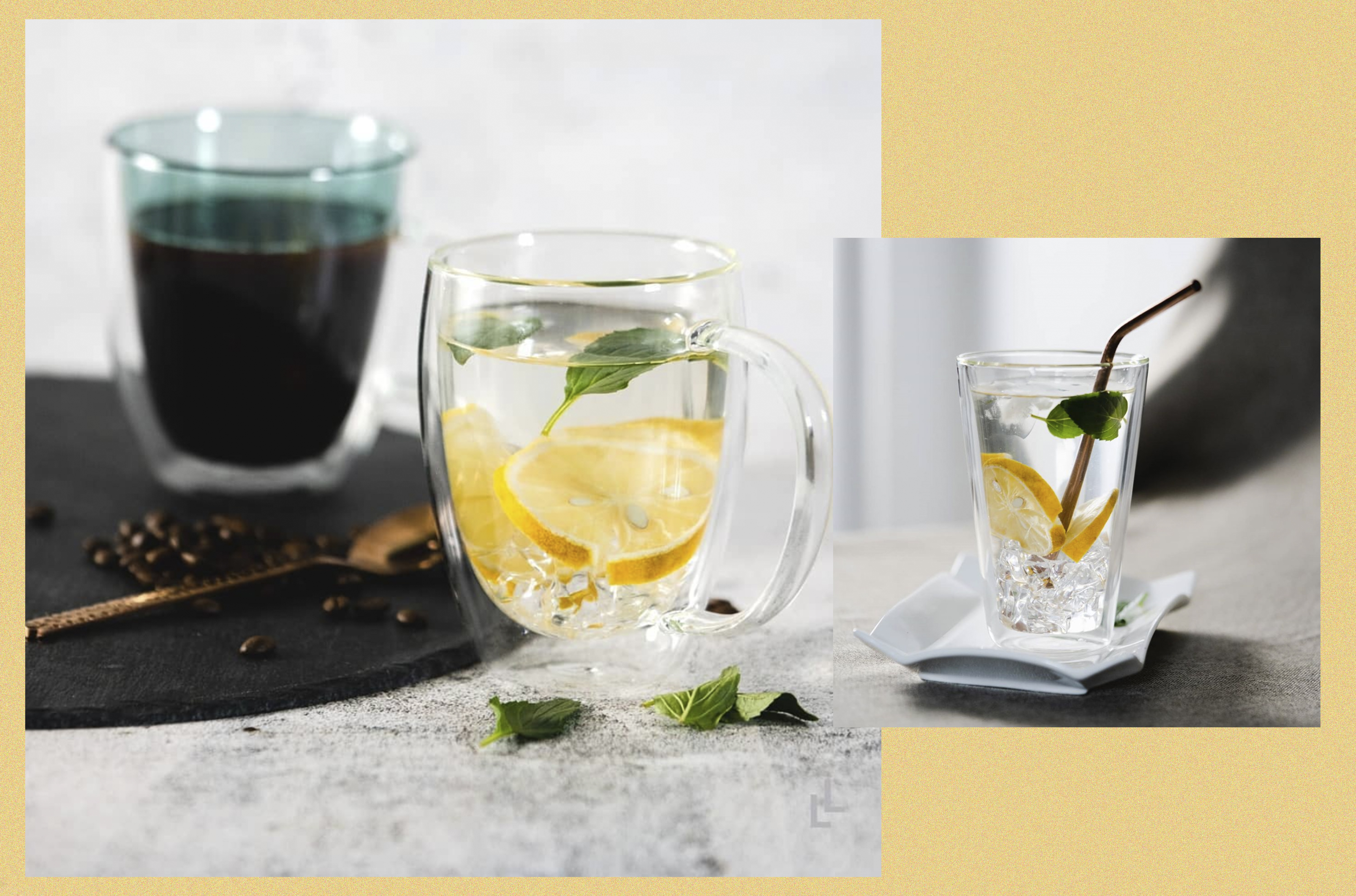 style mnl- double walled glasses