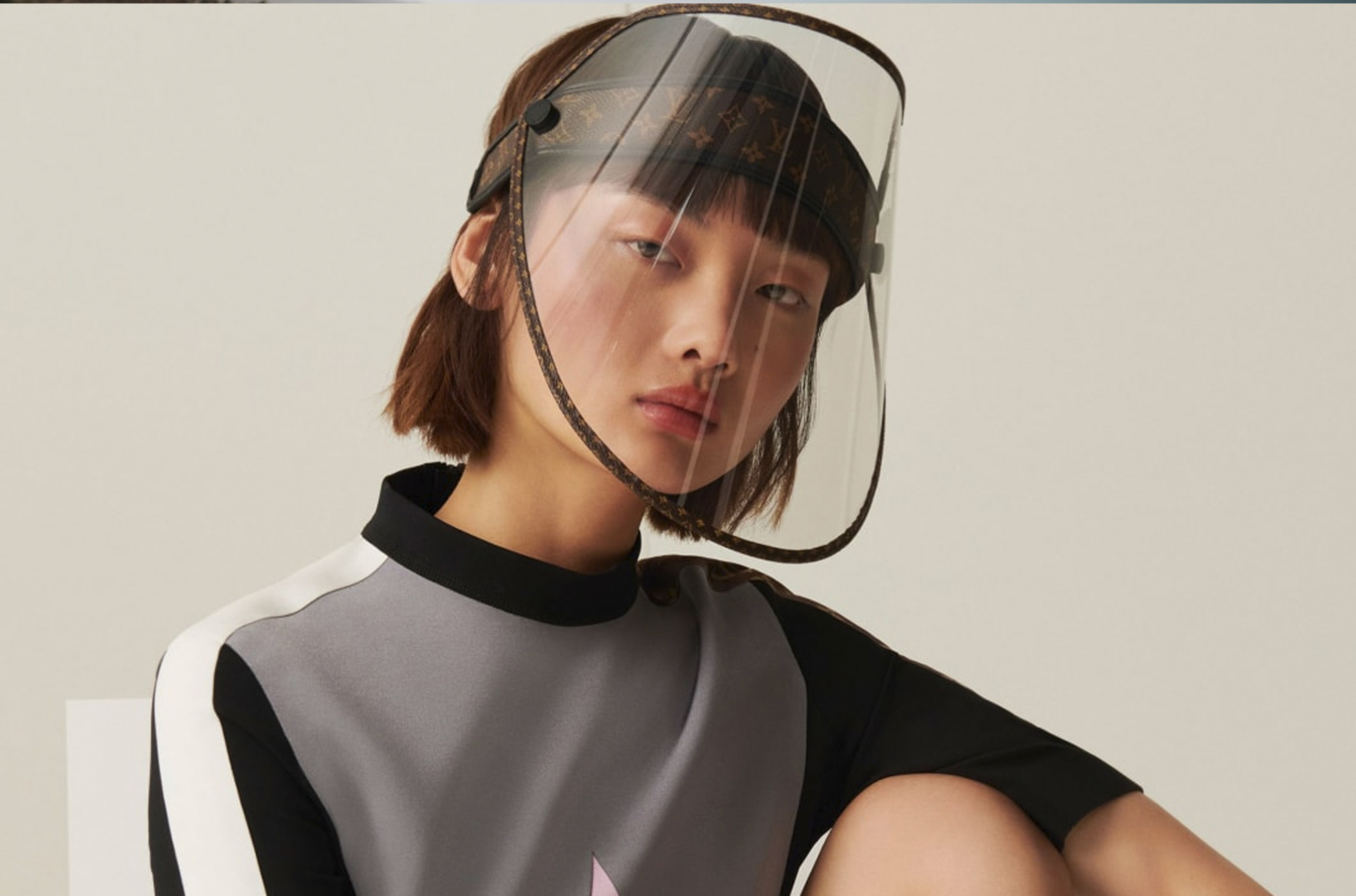 WOULD YOU DARE BUY THIS LOUIS VUITTON FACE SHIELD FOR ALMOST P50,000?