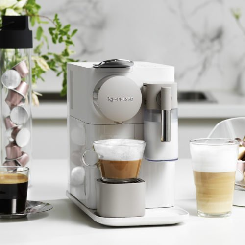 BE YOUR OWN BARISTA AT A TOUCH OF A BUTTON WITH NESPRESSO