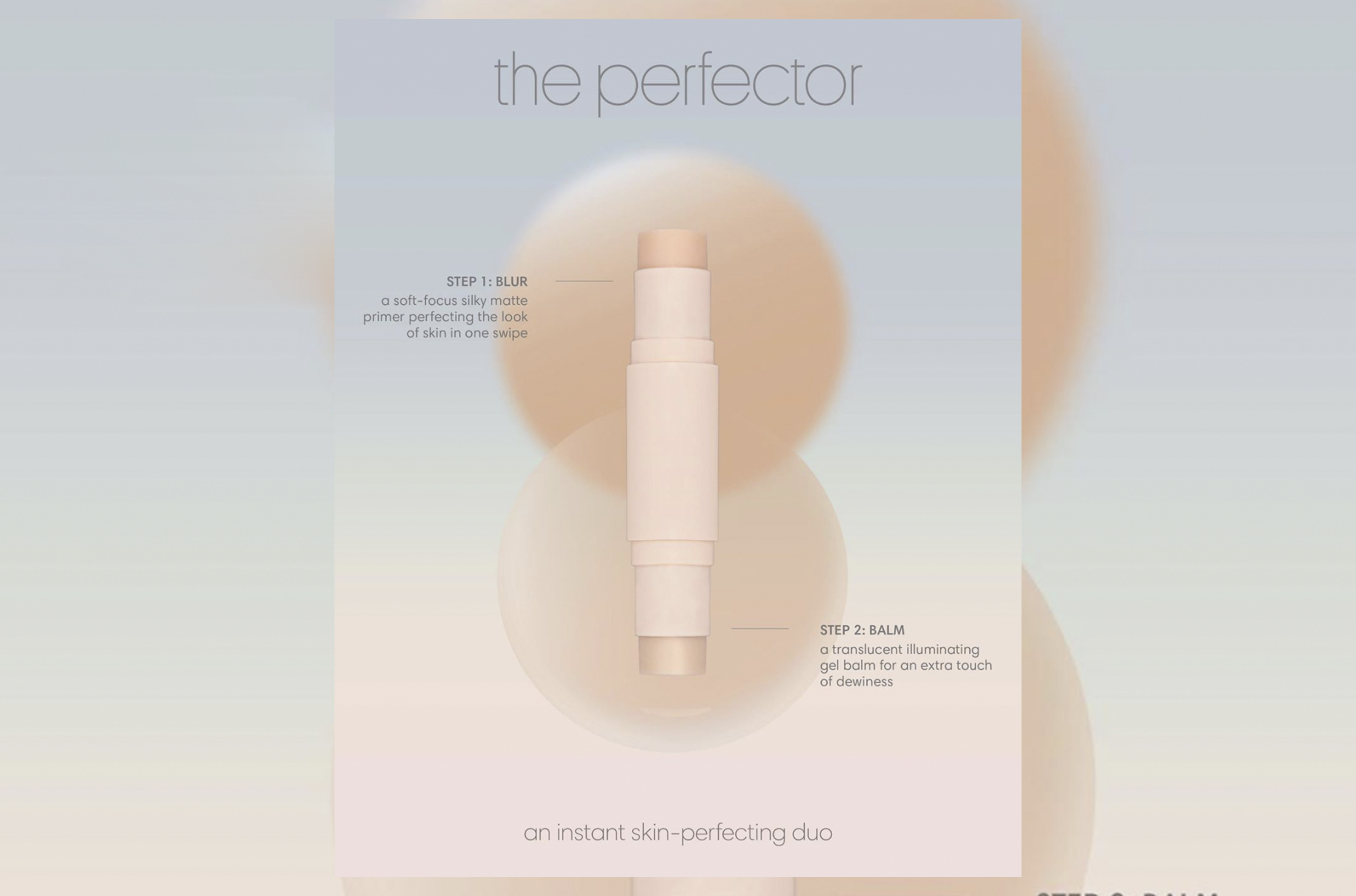 SUNNIES FACE'S NEWEST MAKEUP STICK PROMISES TO ACHIEVE SKIN THAT LOOKS LIKE SKIN