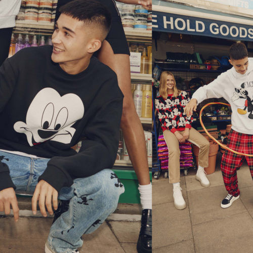 BERSHKA RETURNS WITH A MICKEY MOUSE COLLECTION THIS FALL