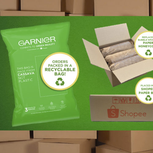 L'OREAL ADDRESSES E-COMMERCE PACKAGING WASTE WITH GREEN PARCEL