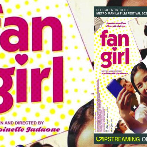 ANTONETTE JADAONE'S FAN GIRL BAGS MMFF 2020 MAJOR AWARDS