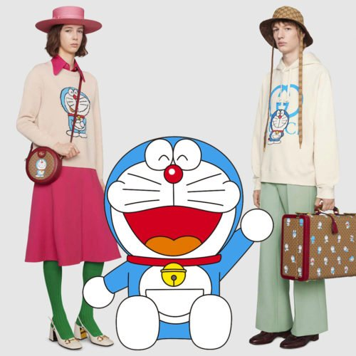 GUCCI RELEASES AN EXCLUSIVE 50-PIECE COLLECTION FROM THE DORAEMON X GUCCI COLLABORATION