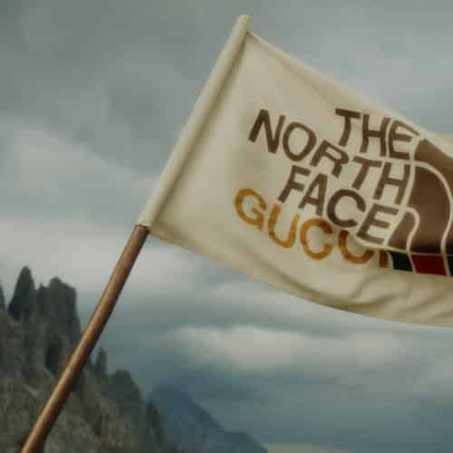 GUCCI HEADS TO THE GREAT OUTDOORS WITH THE NORTH FACE