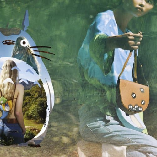 LOEWE TEAMS UP WITH STUDIO GHIBLI TO CREATE A LIMITED EDITION MY NEIGHBOR TOTORO FASHION PIECES