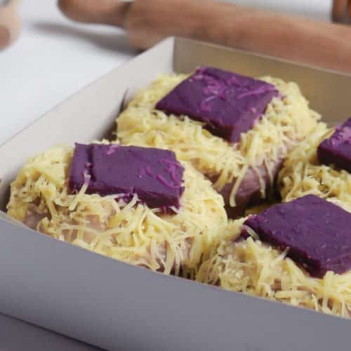 THIS UBE CHEESE ENSAYMADA IS GOING TO TAKE YOUR APPETITE BY STORM