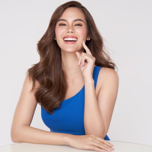 CATRIONA GRAY FINDS MORE REASONS TO SMILE WITH SPARKLE