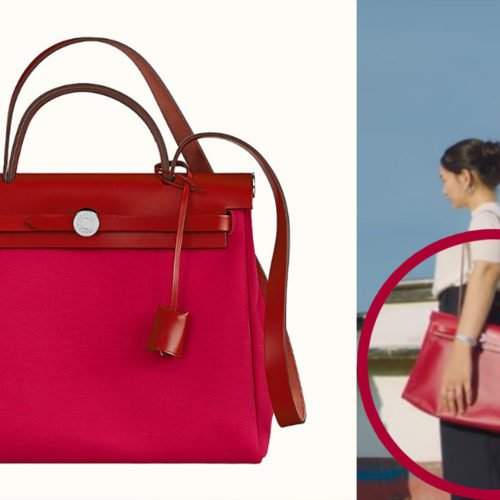 HERE'S THE EXACT SAME BAG OF SHIN MIN AH'S CHARACTER IN THE FIRST EPISODE OF HOMETOWN CHA CHA CHA