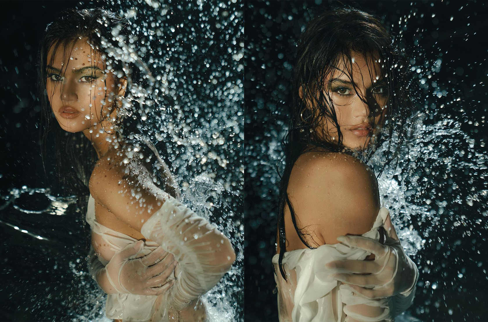 MARIS RACAL MAKES A SPLASH IN HER DRIPPING BIRTHDAY SHOOT