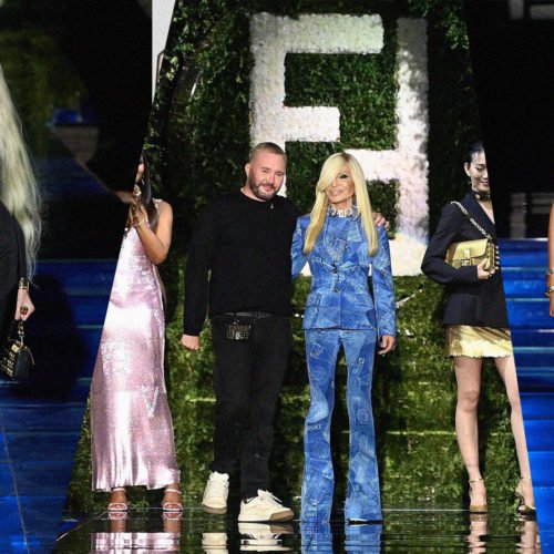 FENDI x VERSACE: HERE'S A FIRST LOOK AT THE 'FENDACE' COLLECTION