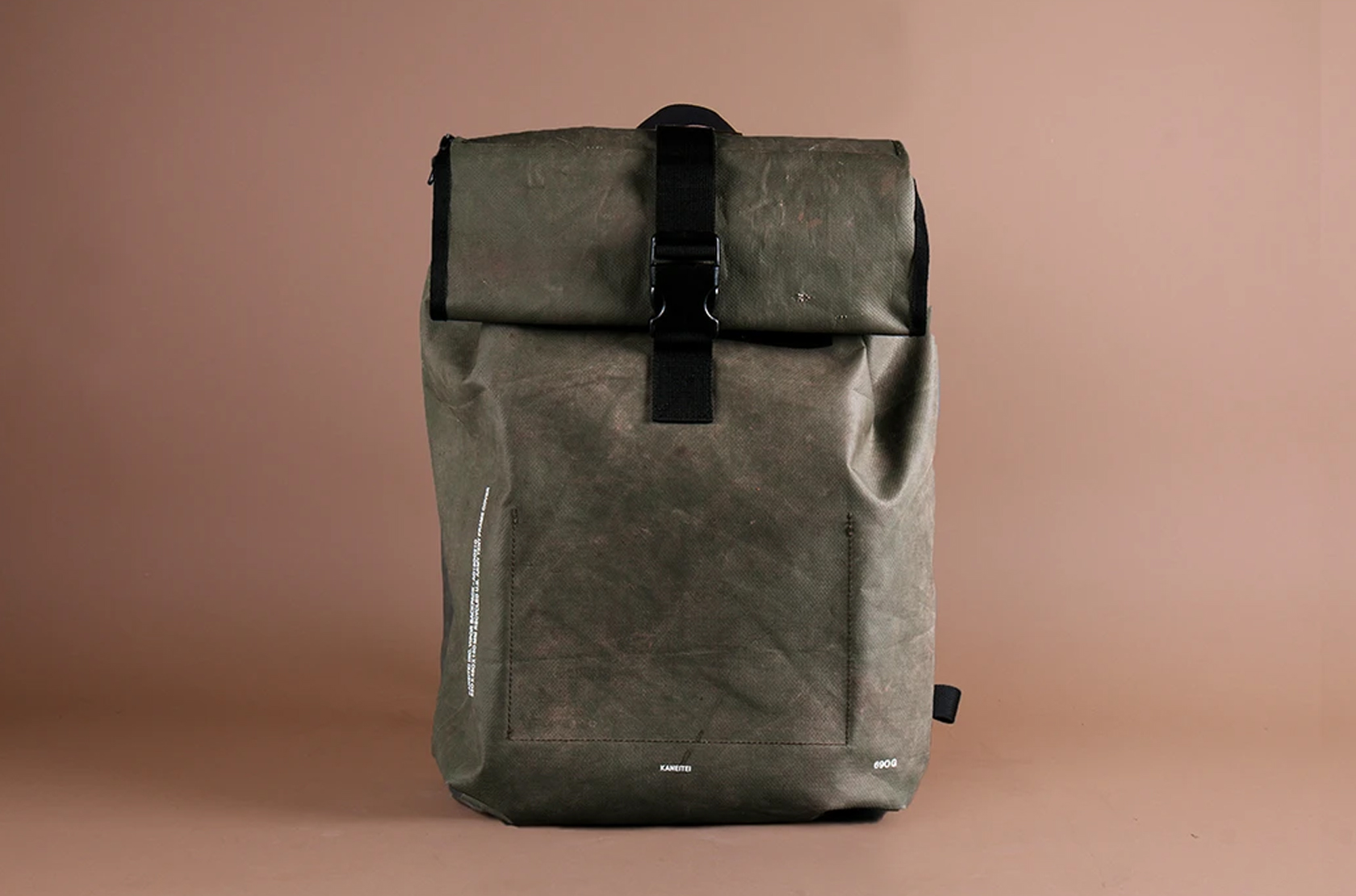 KIM SEON HO'S BAG IN MYHOMETOWN CHA CHA CHA IS ACTUALLY MADE FROM REAL WAR TENTS